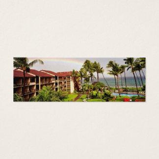 Hawaii Vacation Mini Business Card