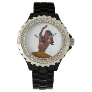 Hawaii Vinatge Hula Girl Watch