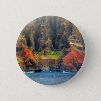 Hawaii Vista 2 Inch Round Button
