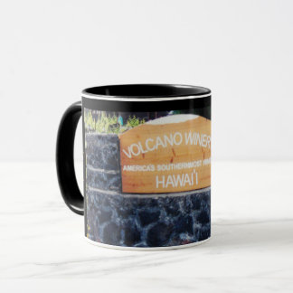 Hawaii Volcano Winery Mug