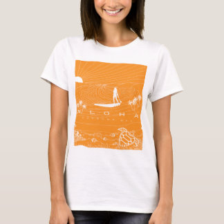 Hawaii waves and surfing 211 T-Shirt