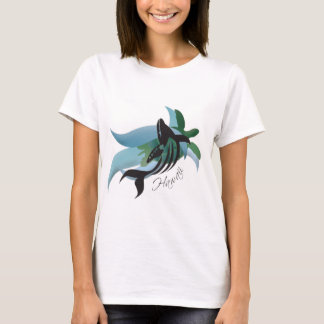 Hawaii Whale and Turtle 208 T-Shirt