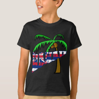 Hawaii with Palm Tree Products T-Shirt