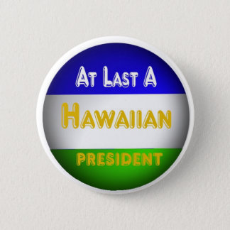 Hawaiian 2 Inch Round Button