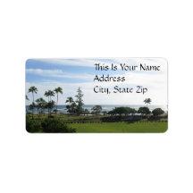 Hawaiian Address Label