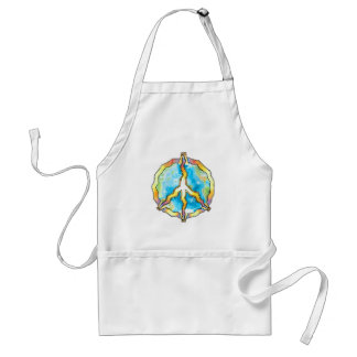 Hawaiian Aloha Flowing to the World Standard Apron