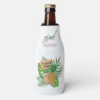 Hawaiian Aloha Luau Graduation Party Guest Favor Bottle Cooler