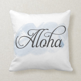 Hawaiian - Aloha Throw Pillow