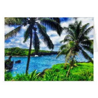 Hawaiian Blank Greeting Card
