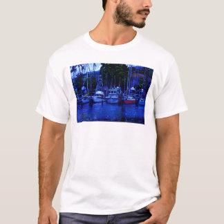Hawaiian Boats at Sunrise T-Shirt