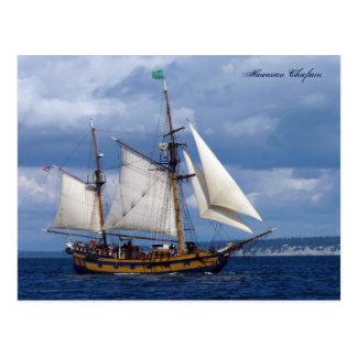 Hawaiian Chieftain Postcard