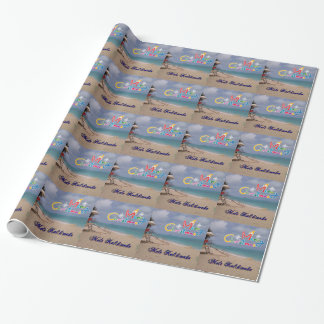 Hawaiian Christmas Aloha Wrapping paper