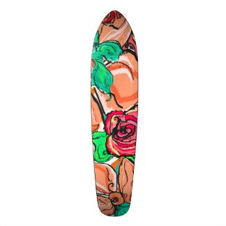 Hawaiian Classic Custom Pro Surfer Long Board Skate Board Deck