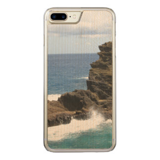 Hawaiian Cliff Carved iPhone 7 Plus Case
