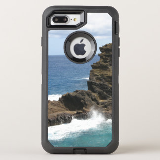 Hawaiian Cliff OtterBox Defender iPhone 7 Plus Case