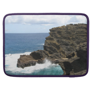 Hawaiian Cliff Sleeve For MacBooks