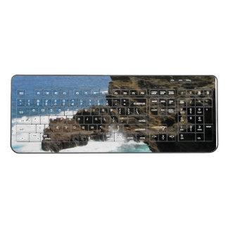 Hawaiian Cliff Wireless Keyboard