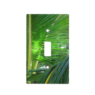 Hawaiian Coconut Palm Light Switch Cover