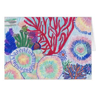 Hawaiian Coral Reef Card