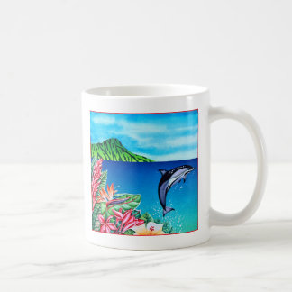 Hawaiian Dolphin Coffee Mug