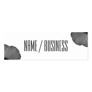 Hawaiian Dreams in Black and White Mini Business Card