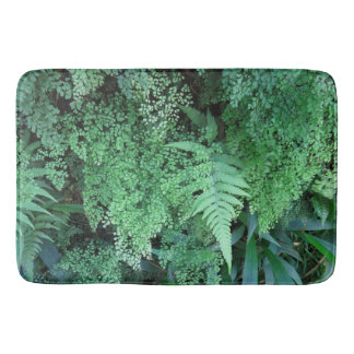 Hawaiian Ferns Bathroom Mat