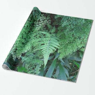 Hawaiian Ferns Wrapping Paper
