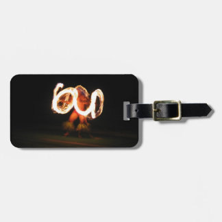 Hawaiian Fire Dance Luggage Tag