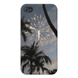 Hawaiian Fireworks Cover For iPhone 4
