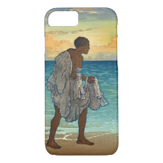 Hawaiian Fisherman 1920 iPhone 7 Case