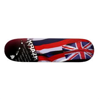 Hawaiian Flag Skateboard Deck