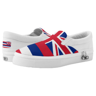 Hawaiian Flag Slip-On Sneakers