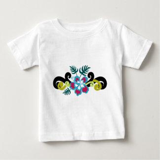 Hawaiian Floral Baby T-Shirt