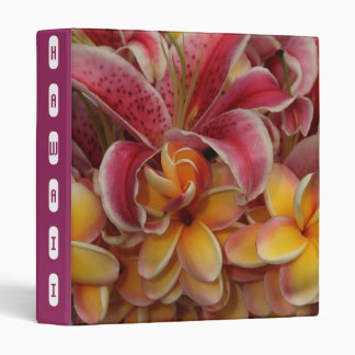 Hawaiian Floral Binder