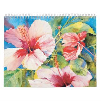 Hawaiian Floral Calendar