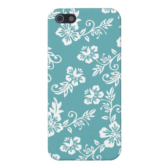 Hawaiian Floral Pattern iPhone 5/5S Cases