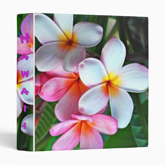 Hawaiian flower binder