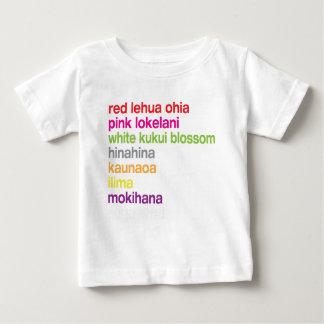 Hawaiian Flowers Baby T-Shirt