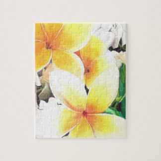 Hawaiian flowers puzzles