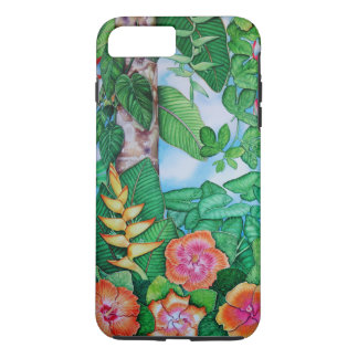 Hawaiian Garden iPhone 7 Plus Case