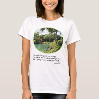 Hawaiian Garden Women's T-Shirt w/Verse
