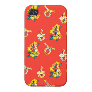 Hawaiian Girl iPhone 4 Case