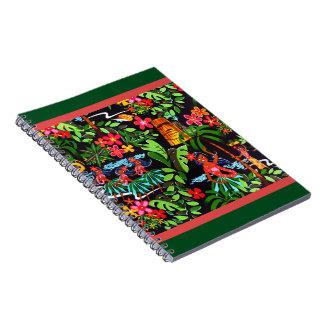 Hawaiian Girls Spiral Notebook