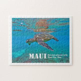 "Hawaiian Green Sea Turtle ""Honu"" puzzle"
