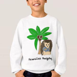 Hawaiian HedgeHog and Palm Tree Sweatshirt