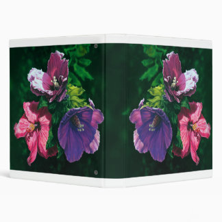 Hawaiian Hibiscus document binder