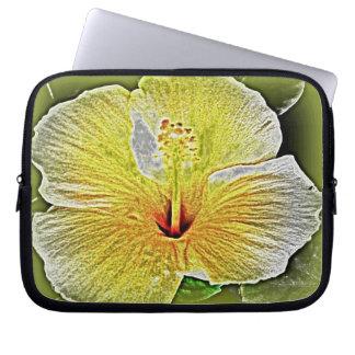 Hawaiian Hibiscus Electronics Bag