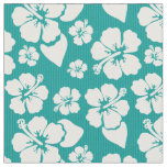 Hawaiian Hibiscus Flower Pattern Fabric