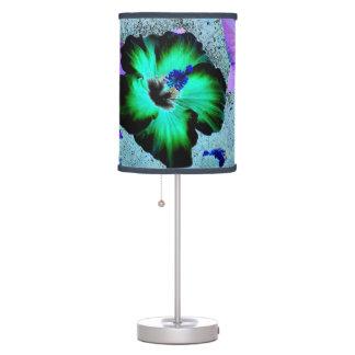 Hawaiian Hibiscus Flower Table Lamp