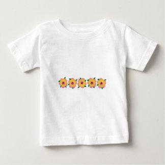 Hawaiian Hibiscus Flowers Baby T-Shirt
